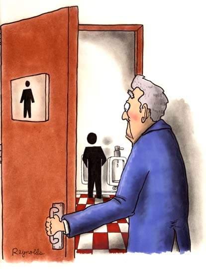 Toilettes Humour